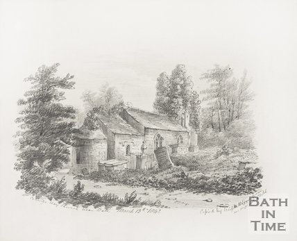 Combe Hay Church near Bath March 13th 1842