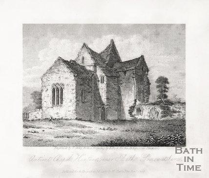 Ancient Chapel Hilton, near Bath Somersetshire.