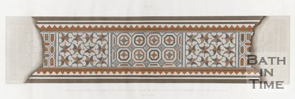 A diagram of the Roman mosaics found in Wellow. (Plate Two) 1823