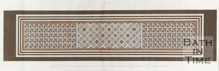 A diagram of the Roman mosaics found in Wellow. (Plate Four) 1823