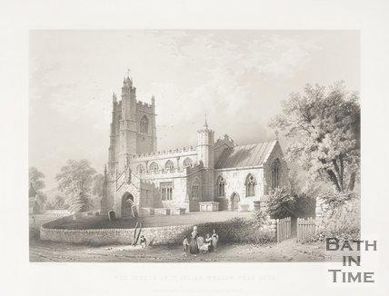 The Church of St Julian, Wellow, near Bath