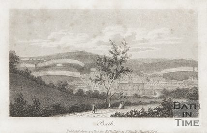 View of Bath 1803