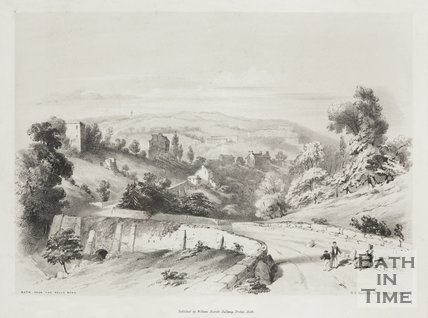 Bath, from the Wells Road c.1839