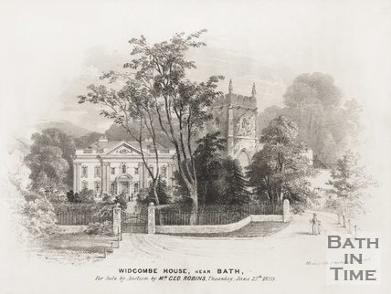 Widcombe Manor, near Bath, 1839