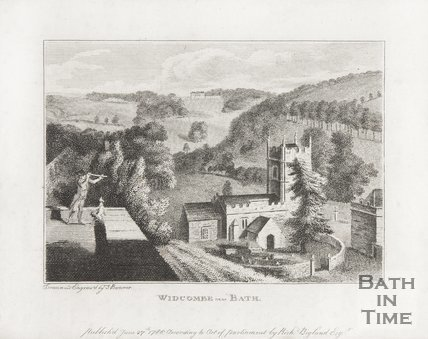 Widcombe near Bath 1786