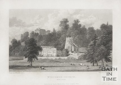 Widcombe Church, Near Bath 1830