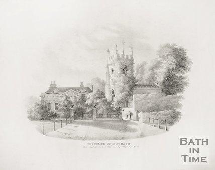 Widcombe Church, Bath c.1830