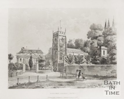 Widcombe Church c.1837