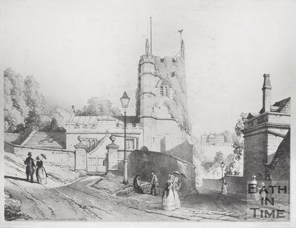 Widcombe Old Church 1850