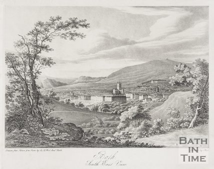 Bath, South East View c.1833