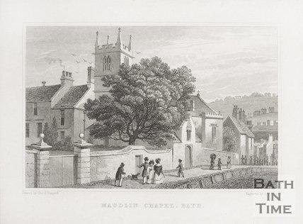 Maudlin (Magdalen) Chapel, Holloway 1829