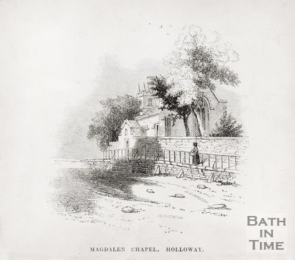 Magdalen Chapel, Holloway 1848