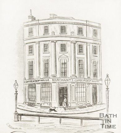 Merchants Coffee and Shop house, Bath Spa Station