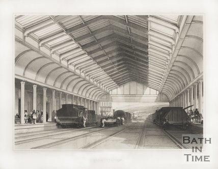 Bath Station c.1840