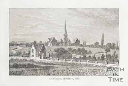 Locksbrook Cemetery Bath, c.1870?