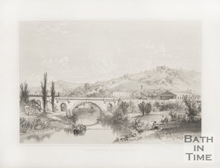 St. James Bridge and Station c.1840