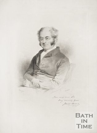 Portrait of James Bromley.