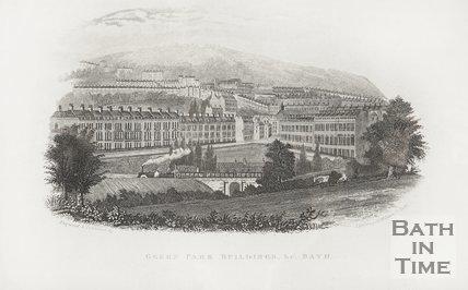 Green Park Buildings &c, Bath c.1846