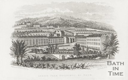 Green Park Buildings &c, Bath c.1846