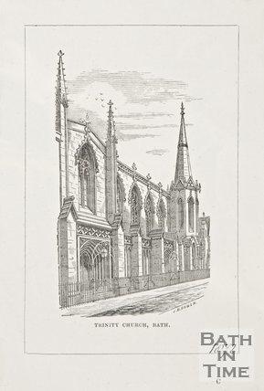 Trinity Church 1872.