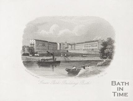 Green Park Buildings &c, Bath c.1858