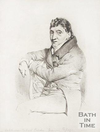 Pencil drawing of Hutchinson.