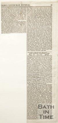 From the chambers Edinburgh Journal. February 27th 1836.