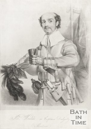 Portrait of Mr Woulds as Captain Dalgatty (Montricu)