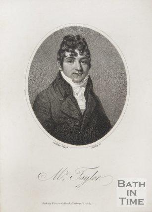 A portrait of Mr Taylor. July 1805