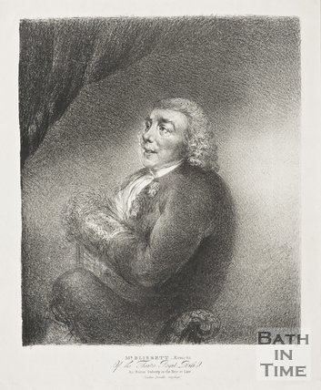 Mr Blissitt of the Theatre Royal Bath as Baron Duberly in the Heir at Law