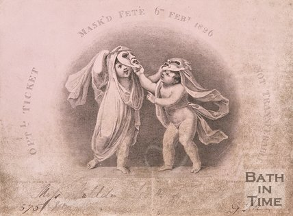 A ticket to a masked fate, 1826.