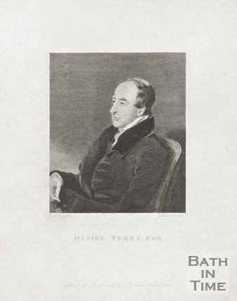 Portrait of Daniel Terry, 1823.