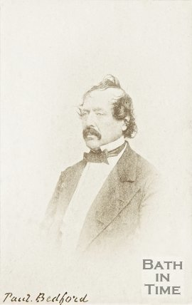 A photograph of Paul Bedford c.1860