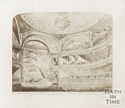 Interior of New Theatre Royal Bath