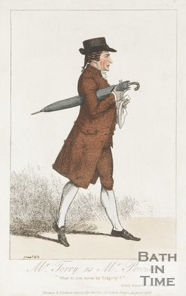 Mr Terry as Mr Precise. August 1818.