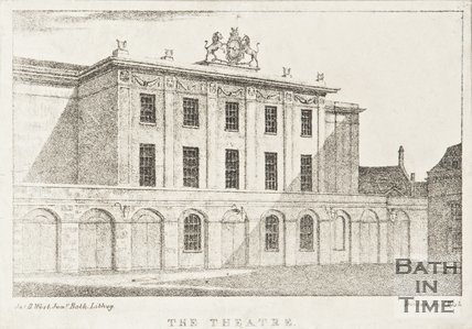 The Theatre Royal, 1823.