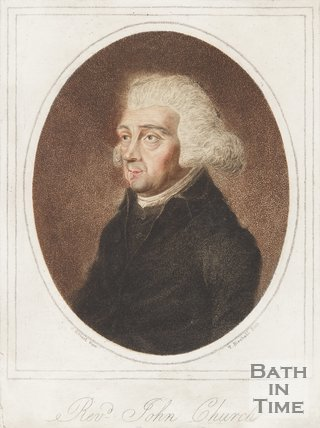 Portrait of Rev. John Church