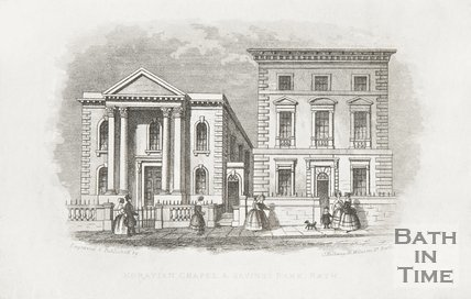 Moravian Chapel & Savings Bank, Charlotte Street, Bath c.1845