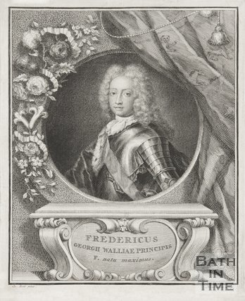 Portrait of the Prince of Wales.
