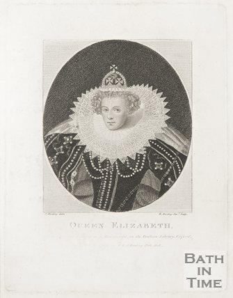A portrait of Queen Elizabeth 1793.