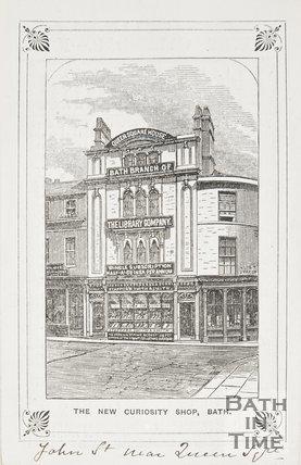 The New Curiosity Shop, Bath, John Street