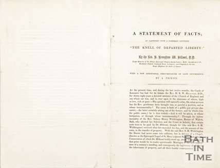 A pamphlet entitled The Knell of Departing Liberty