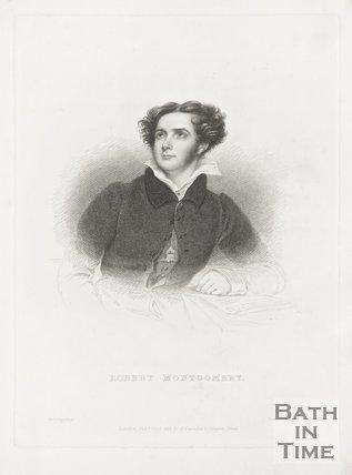 A portrait of Robert Montgomery, 1828.