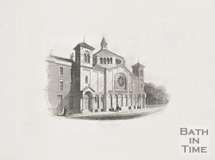 Percy Chapel, Charlotte Street c.1854