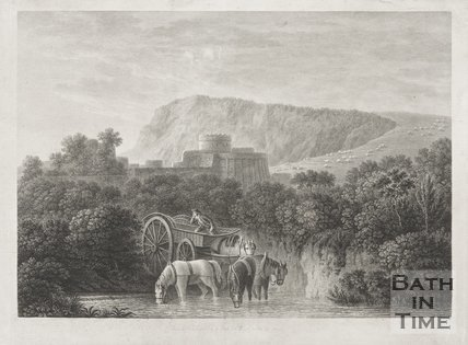 Engraving published by I. Taylor of Bath, October 10th 1775.