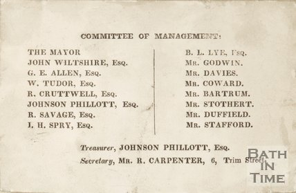 A list of the Committee Management for the Royal Victoria Park.