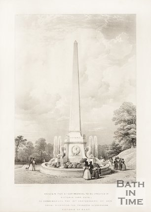 Design for a Testimonial to be Erected in Victoria Park c.1837