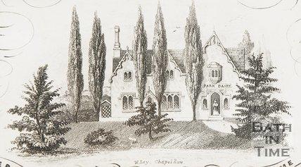 Park Dairy, Royal Victoria Park, c.1837?