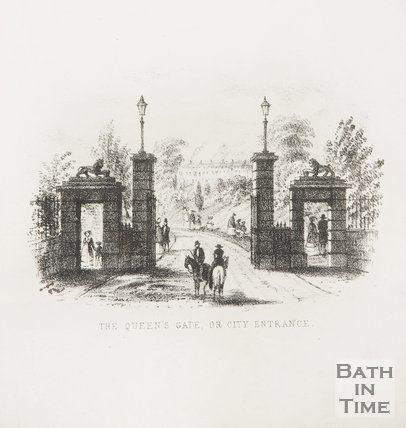 The Queen's Gate, or City Entrance, 1857.