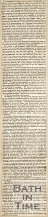 Reviews the Princess Victoria's procession, 1838